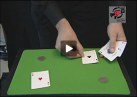 Tour de cartes : Les 4 as